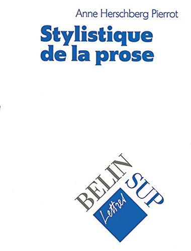 9782701114323: Stylistique de la prose