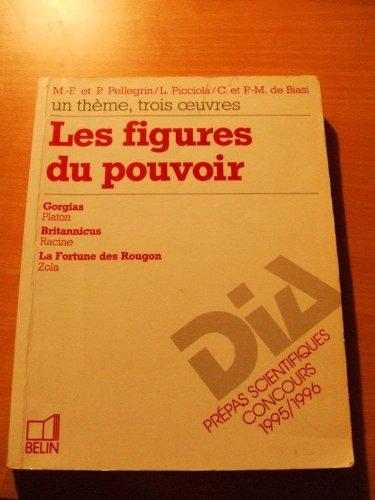 9782701117300: Les figures du pouvoir : Un thème, trois oeuvres...