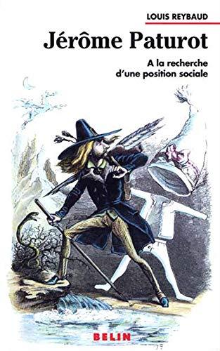 9782701119731: Jérôme Paturot. A la recherche d'une position sociale
