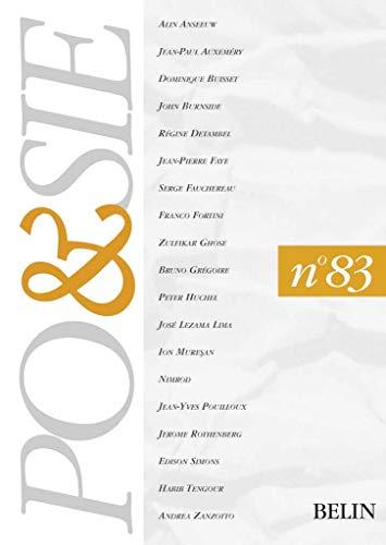 9782701123561: POESIE N° 83