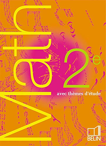 9782701127187: Math 2nde : Avec thèmes d'étude