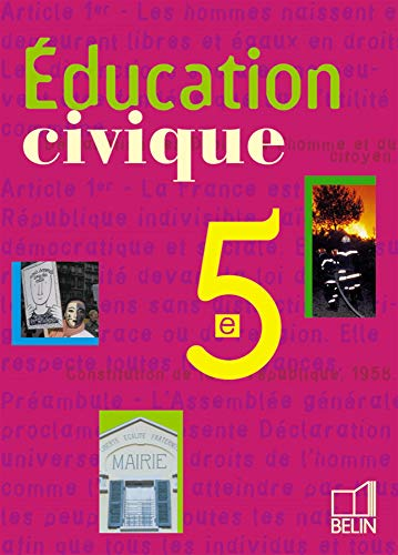 9782701128658: Education civique 5ème