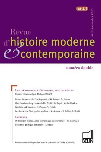 Revue d'histoire moderne et contemporaine - tome: COLLECTIF]