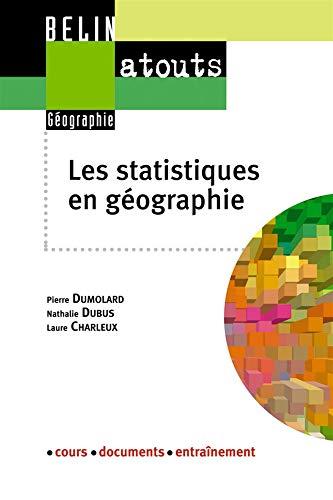 9782701132204: Les statistiques en géographie (French Edition)