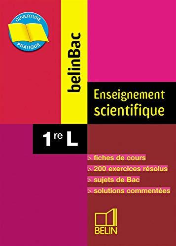 9782701135830: BelinBac : Enseignement scientifique, première, Bac L