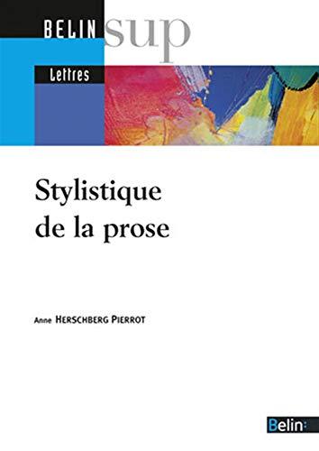 9782701137513: Stylistique de la prose