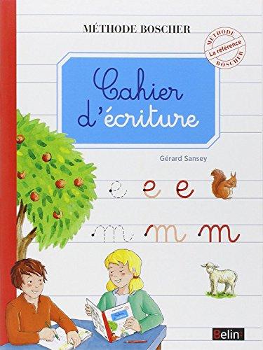 9782701139289: Boscher Cahier d'criture