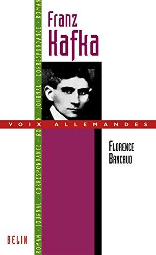 9782701139609: Franz Kafka ou l'art de l'esquisse