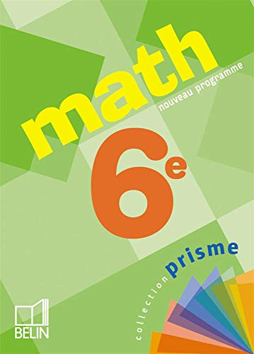 9782701140285: Math 6e (French Edition)