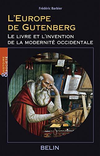 9782701142036 L Europe De Gutenberg Le Livre Et L