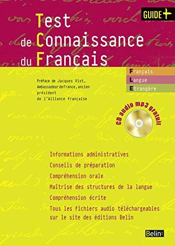 9782701144498: Test de connaissance du français (1CD audio MP3) (Guide +)