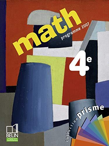 9782701144917: Math 4e : Programme 2007