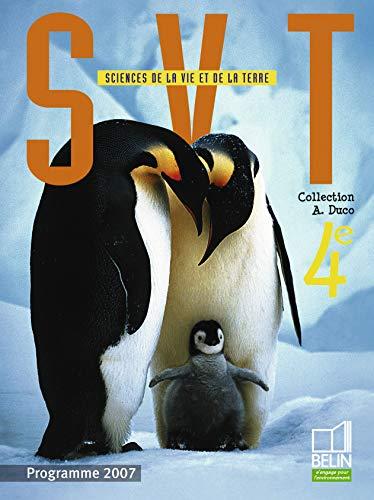 9782701144948: Sciences de la Vie et de la Terre 4e (French Edition)