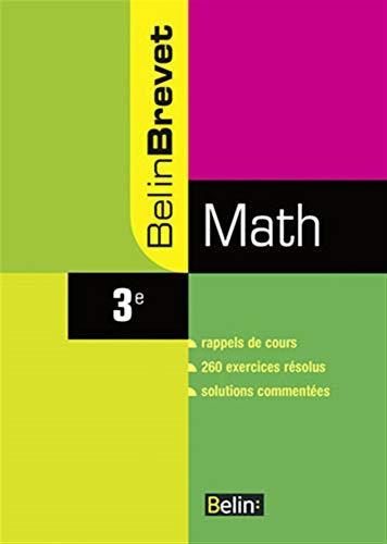 9782701147697: Math 3e