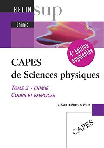 9782701148588: CAPES de Sciences physiques (French Edition)