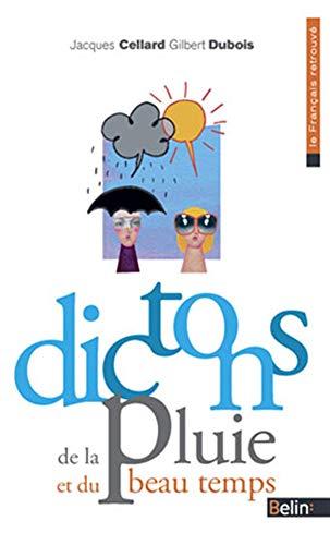 9782701149271: Dictons de la pluie et du beau temps