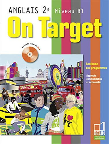 9782701149868: Anglais 2e Niveau B1 On Target (1CD audio)