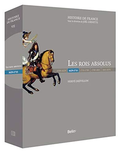9782701153087: Les Rois Absolus (1630-1715) Luxe