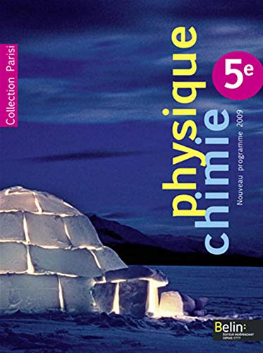 9782701154541: Physique Chimie 5e (French Edition)