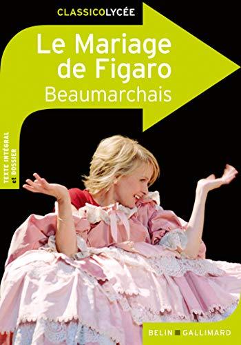 9782701156378: Le Mariage de Figaro: Comédie en cinq actes en prose