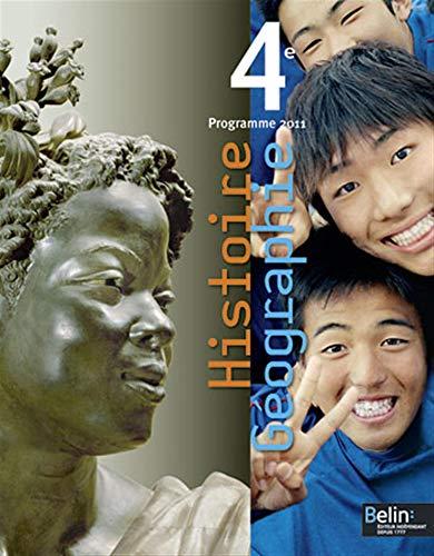 9782701158822: Histoire Géographie 4e : Programme 2011