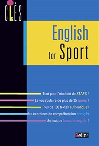 9782701158969: L'anglais du sport (nle édition) (Clés)