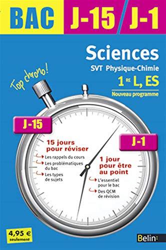 9782701161327: sciences ; 1ère L, ES