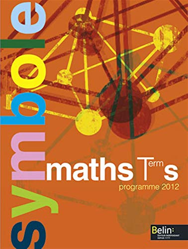 9782701161976: Maths Tle S : Programme 2012