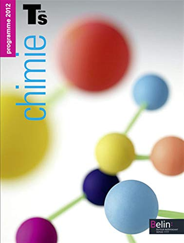 9782701162553: Chimie Tle S : Programme 2012