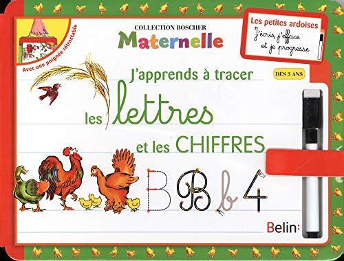 9782701163314: J'apprends a tracer lettres chiffres ned (Méthode Boscher)