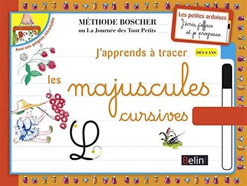 J APPRENDS A TRACER LETTRES MAJUSC CURSI: METHODE BOSCHER ED12