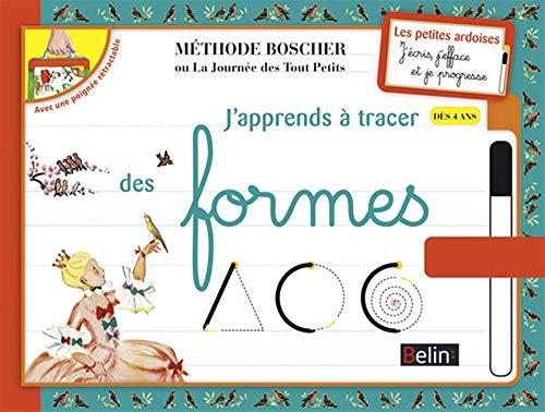 9782701163352: J'apprends a tracer des formes : Des 4 ans ; Methode Boscher (French Edition)