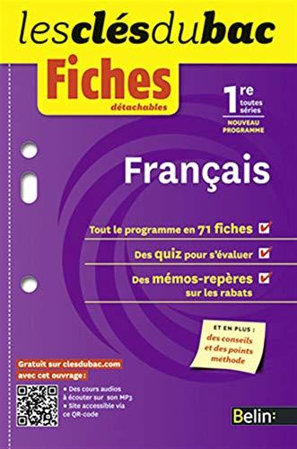 9782701163642: Français 1e toutes séries : Fiches détachables