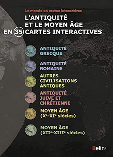 9782701176727: Antiquite et Moyen Age en 35 Cartes Cdro