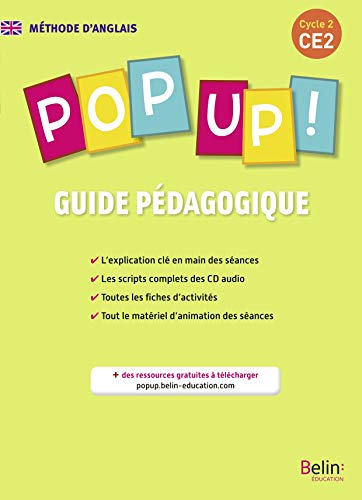 POP UP ! CE2 GUIDE PEDAGO: COLLECTIF ED 2014