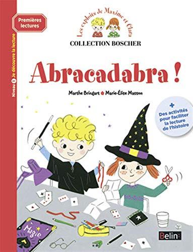 ABRACADABRA -PREMIERES LECTURES-: METHODE BOSCHER