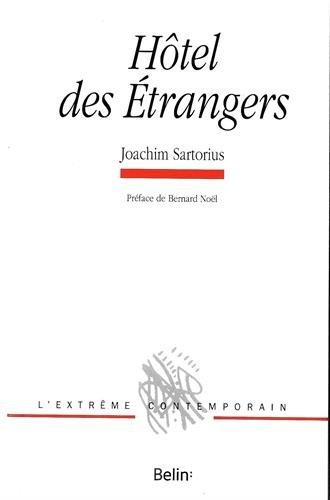 HOTEL DES ETRANGERS: SARTORIUS JOACHIM