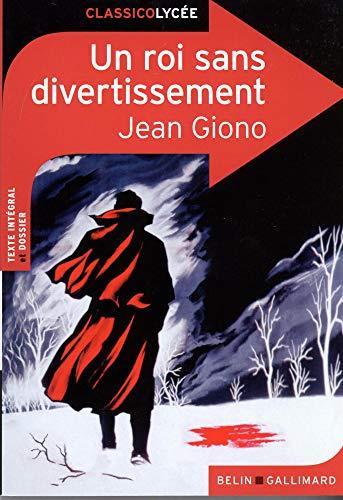 9782701193045: Un roi sans divertissement (ClassicoLycée)