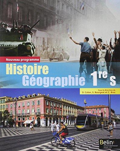 9782701193472: Histoire-géographie 1re S 2015 - Livre de l'élève