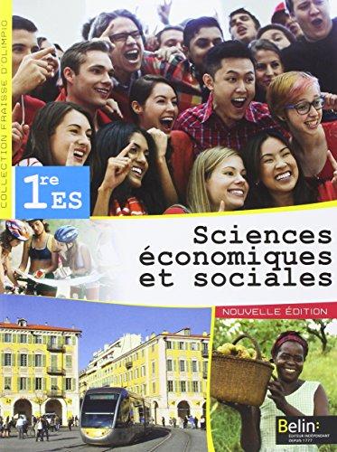9782701193601: Sciences économiques et sociales 1re ES (Fraisse-D'Olimpio)