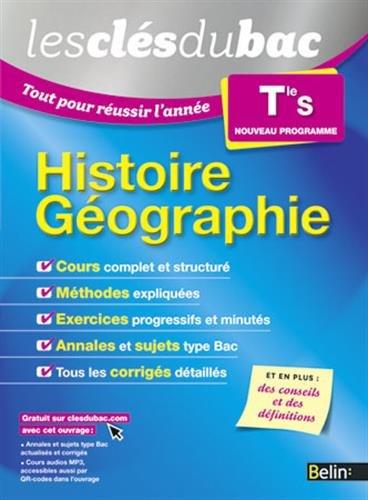 9782701194639: Les Clés du Bac - Tout pour réussir l'année - Histoire Géographie Term S
