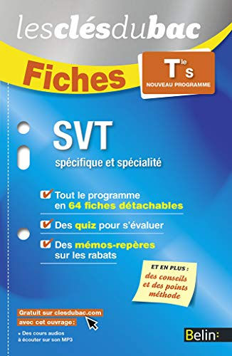 SVT TLE S: FICHES NED 2016