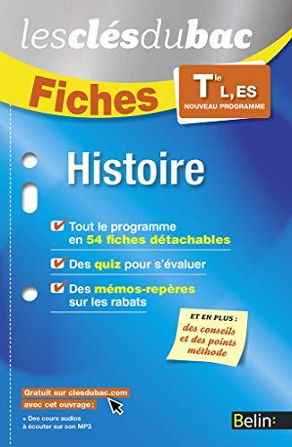 HISTOIRE TLES L ES: FICHES ED 2016