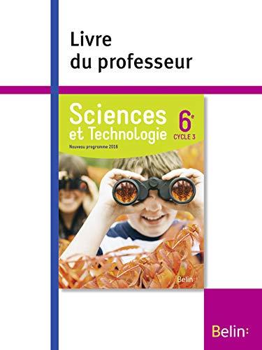 SCIENCES ET TECHNOLOGIE 6E 2016 LIVRE PR: COLLECTIF