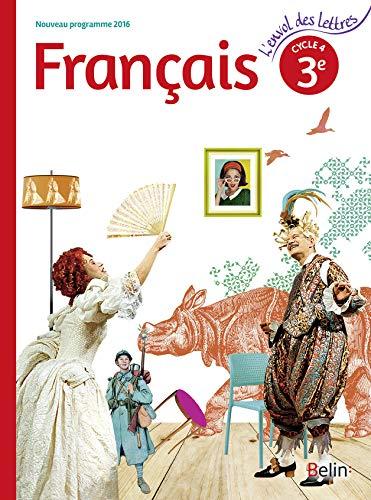 9782701197371: L'envol des lettres français troisième 2016 livre eleve gf
