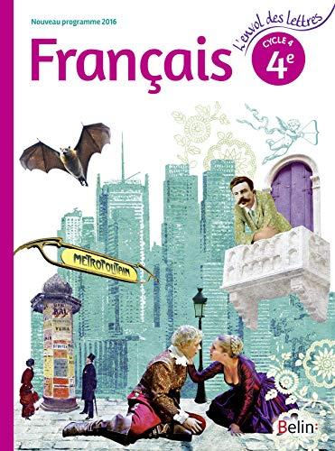 9782701197395: Français 4éme cycle 4 livre de l'élève - Grand format - Nouveau programme 2016