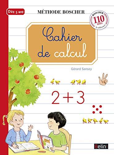 9782701197463: Boscher : Cahier de calcul (French Edition)