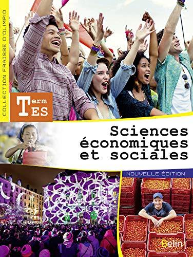9782701197647: Sciences économiques et sociales Tle ES - livre de l'élève