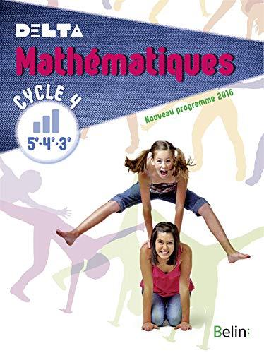 9782701199320: Mathématiques Cycle 4 (5e, 4e, 3e) Delta