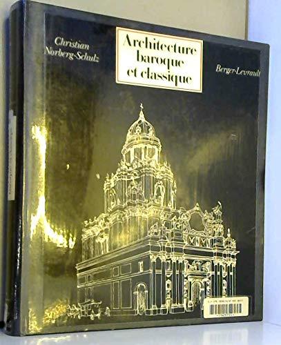Architecture baroque et classique by christian norberg for L architecture baroque